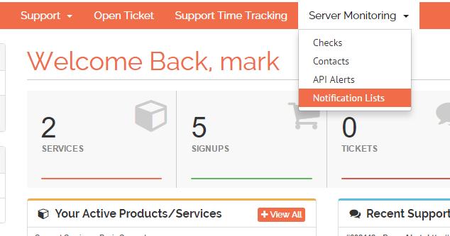 Setting up server monitoring