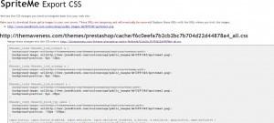 Spriteme CSS