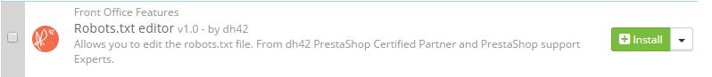 PrestaShop robots.txt
